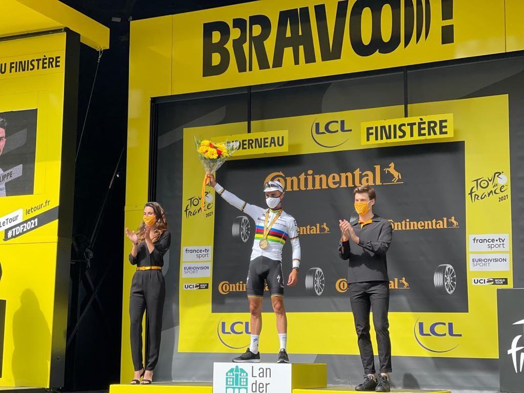 Результаты первого этапа «Тур де Франс — 2021»