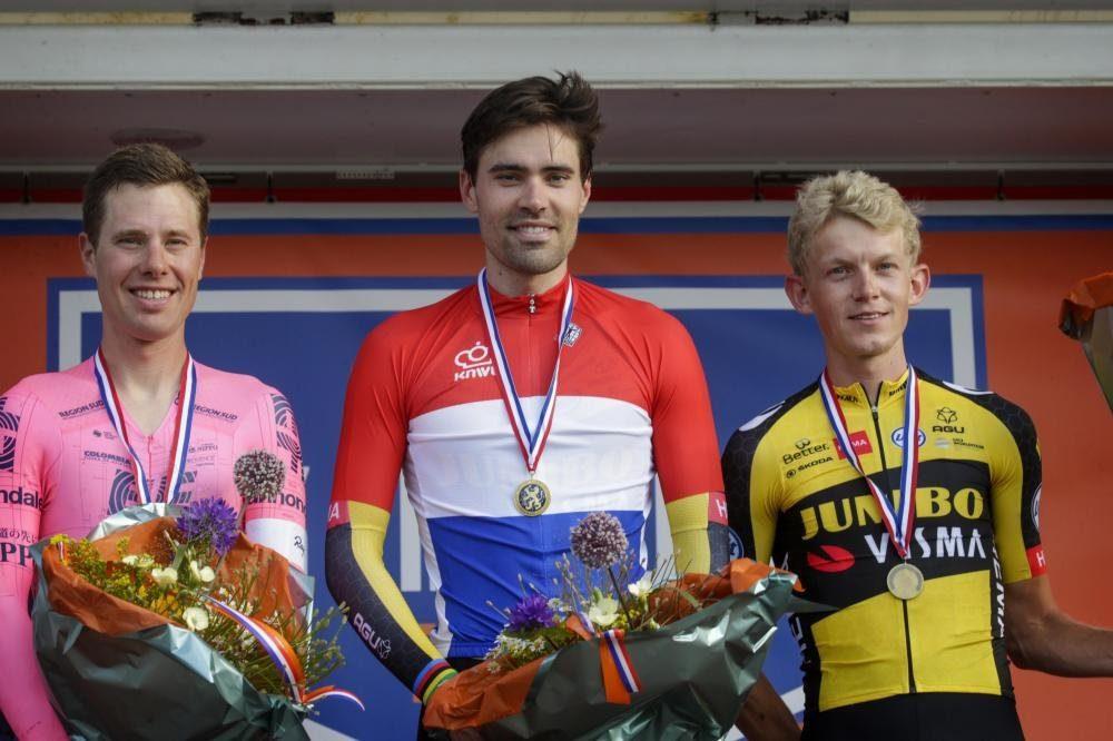 Том Дюмулен в четвёртый раз стал чемпионом Нидерландов по велоспорту в ITT