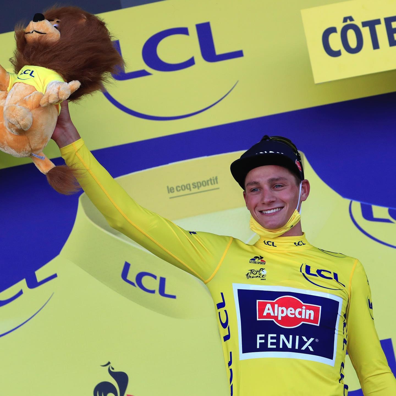 Результаты второго этапа «Тур де Франс» — победа Матье ван дер Пула
